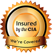 Insured by the CIA. We're Covered